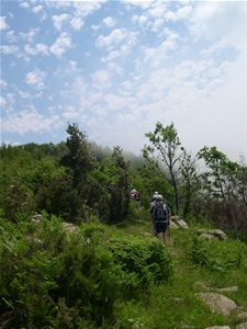 Hiking in Cilento, Italy