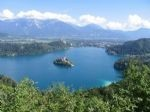 Walking holidays in Slovenia - Lake Bled and Lake Bohinj - Click Here For Larger Image