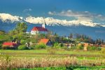 Walking holidays in Romania - Transylvania & Carpathian Mountains - Click Here For Larger Image