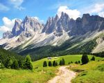 Walking holidays in Italy - Val di Fassa - Trek - Click Here For Larger Image