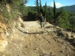 Walking holidays in Greece - Corfu - Corfu Trail - Complete trail - Click Here For Larger Image